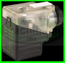 STECKER GROSS 27 x 27mm,  LED, 24V AC/DC