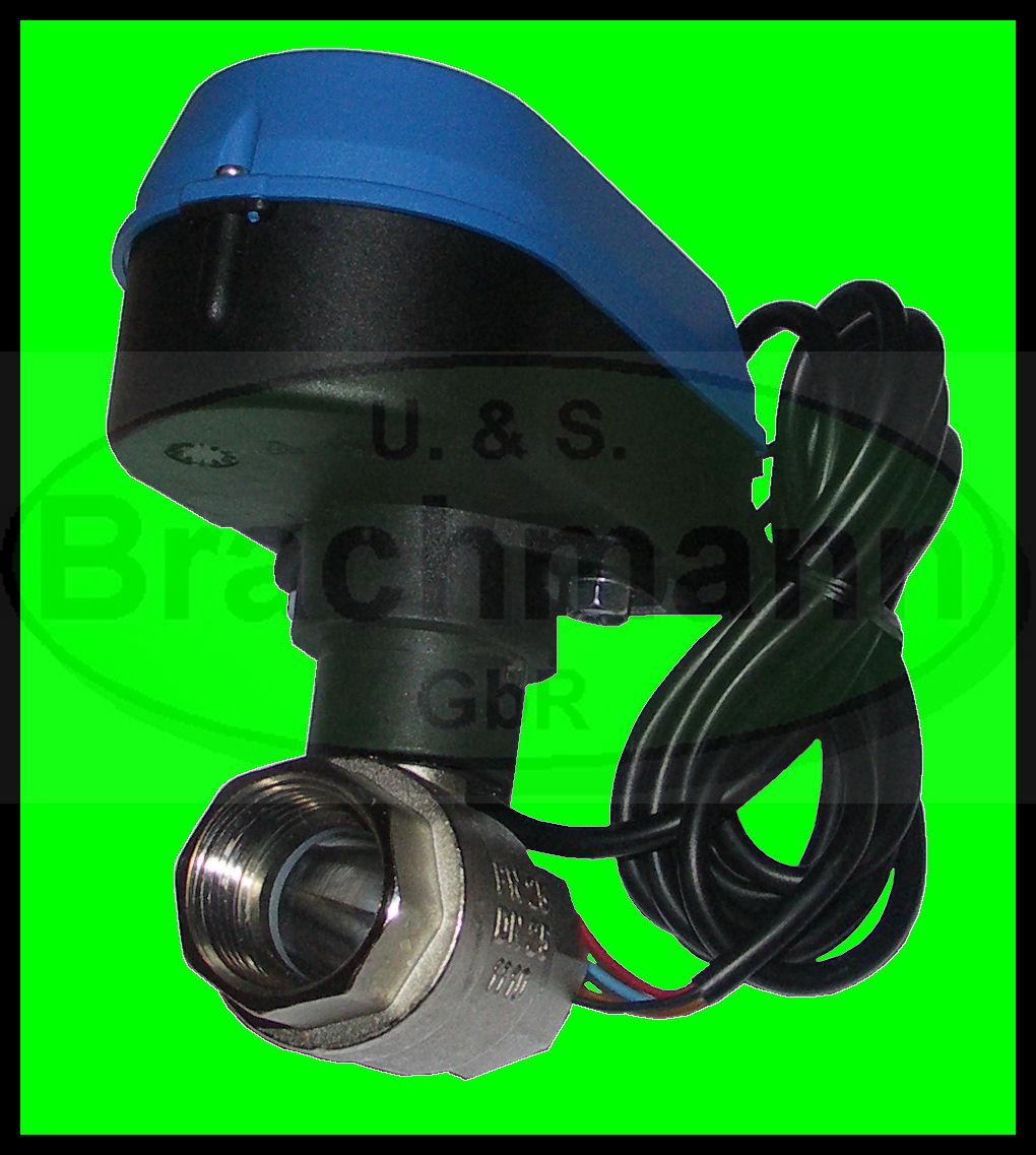 Kugelventil 1 Elektrischer Kugelhahn Dn 25 230v 50hz Neu Ebay